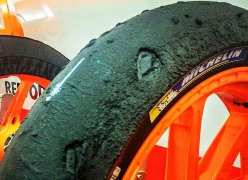MotoGP: pagella gommistica di Aragon