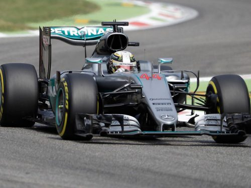 F1 | Hamilton primo nelle libere di Monza, la Ferrari insegue