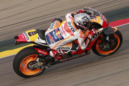 Aragon, MotoGP in Spagna le FP1 a Marc Marquez