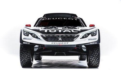 Peugeot, ecco la nuova bestia per la Dakar 2017