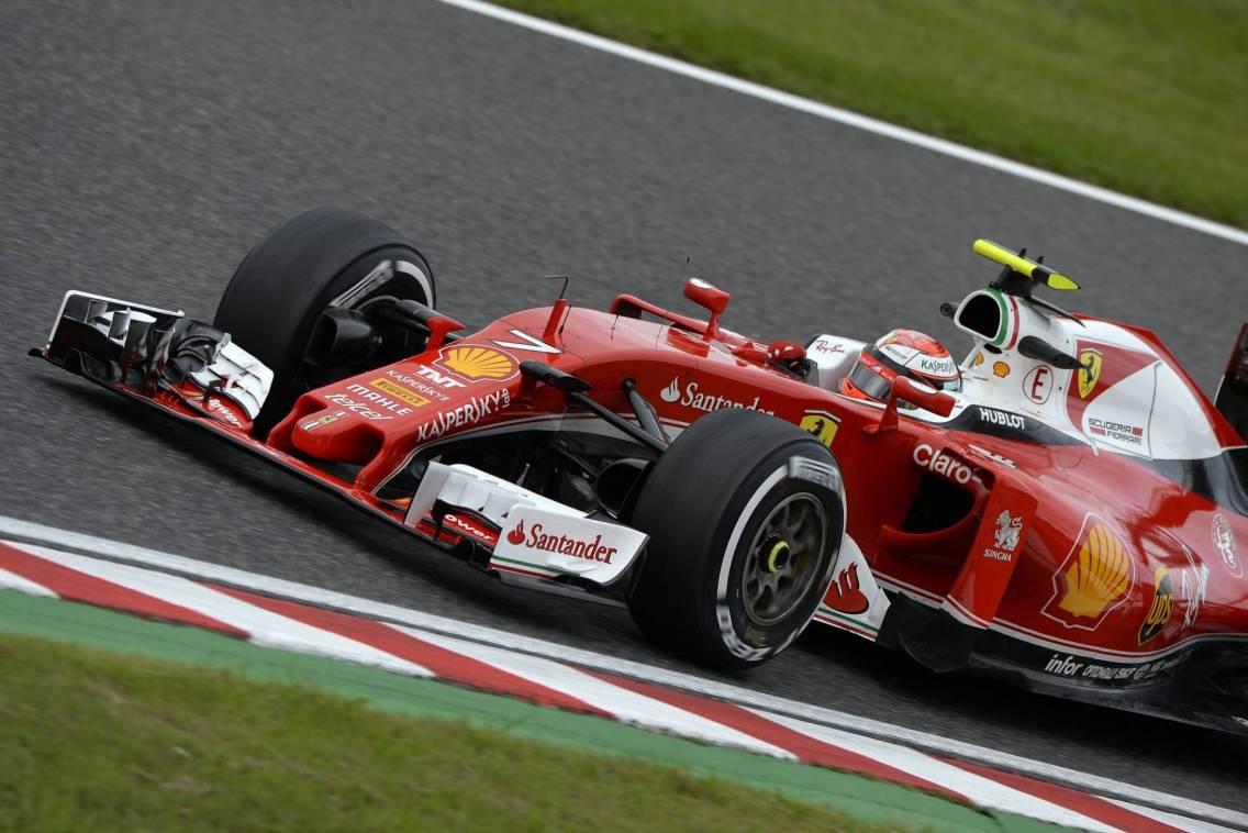 Ferrari, ancora giù dal podio a Suzuka.