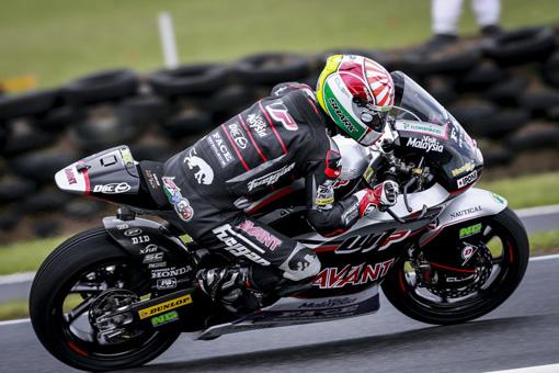 Morbidelli-Locatelli, l'Italia sul secondo gradino del podio anche in Moto2 e Moto3