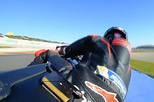 Ricardo Tormo, Valencia MotoGP secondo giorno di test