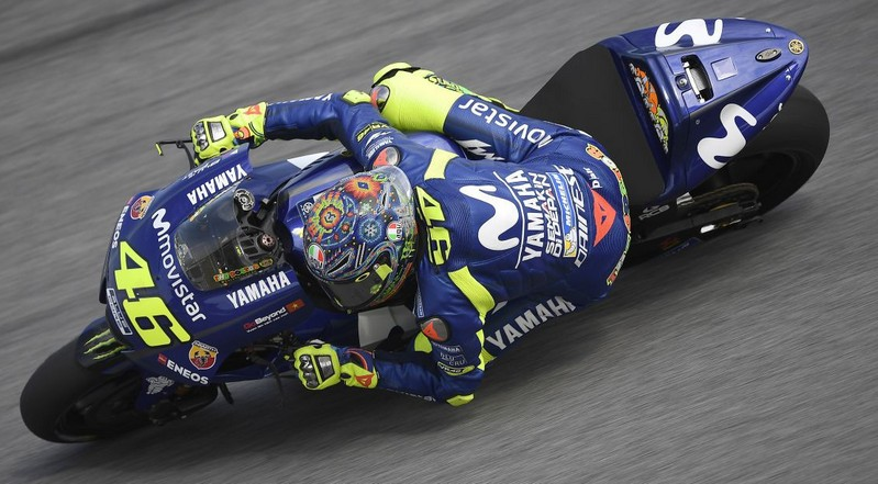 valentino rossi sepang test 2018