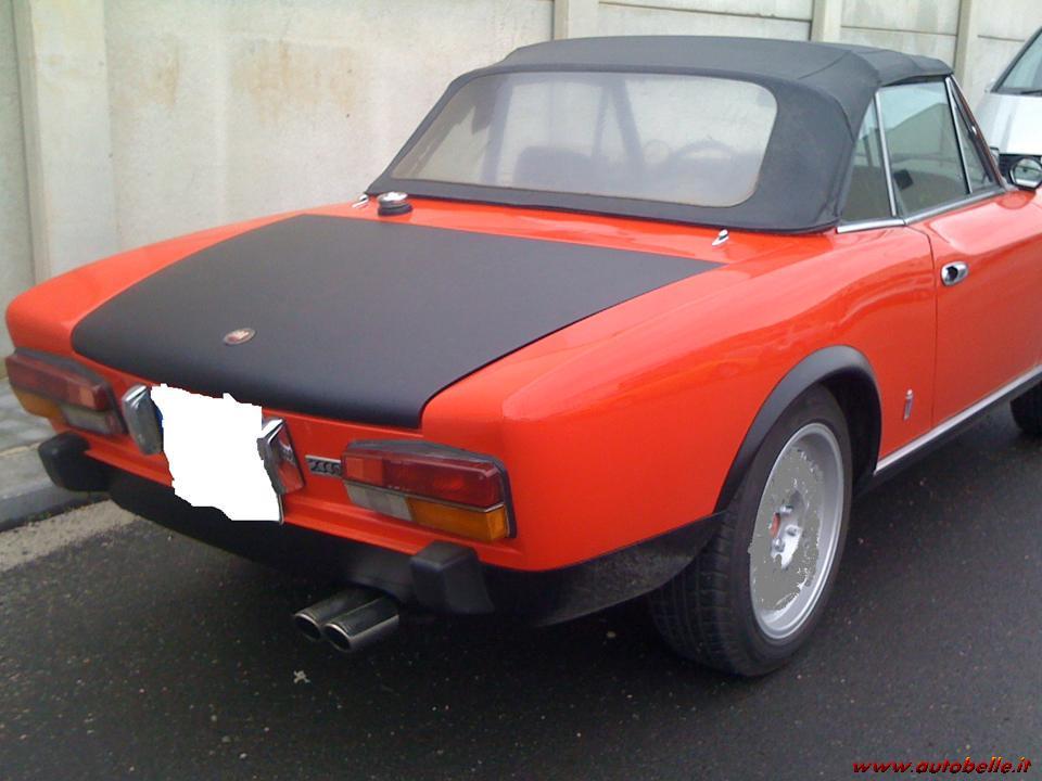 Fiat 124 Spider Giornale Motori