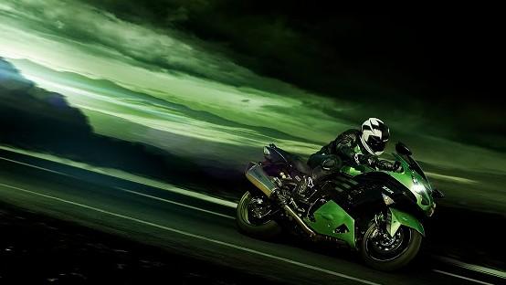 Kawasaki zzr1400 200 cavalli per il turismo veloce for Sinonimo di veloce